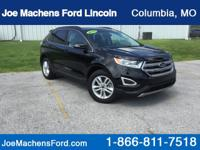 Certified. 2016 Ford Edge SEL Shadow Black Alloy