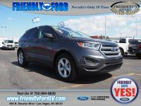 Certified. Magnetic Metallic 2016 Ford Edge SE FWD