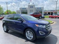 This FORD CERTIFIED PRE-OWNED 2016 Kona Blue Metallic