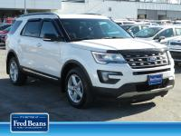 Come see this certified 2016 Ford Explorer XLT. Its