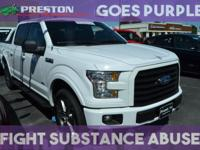 CARFAX One-Owner. Clean CARFAX. Oxford White 2016 Ford