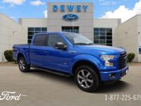 Certified. Blue Flame Metallic 2016 Ford F-150 XLT 301A