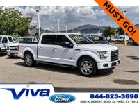 Certified. Oxford White 2016 Ford F-150 XLT RWD 6-Speed