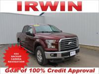 4WD! FORD CERTIFIED! LOW MILES! PANORAMIC