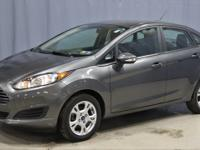 Certified. Magnetic Metallic 2016 Ford Fiesta SE FWD