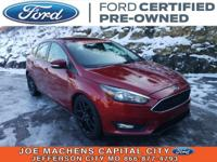 CARFAX One-Owner. Clean CARFAX. Certified. Ruby Red