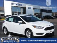 Clean CARFAX. Certified. Oxford White 2016 Ford Focus