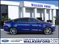 Certified. CARFAX One-Owner. Deep Impact Blue 2016 Ford
