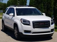 Summit White 2016 GMC Acadia SLT-1 FWD 6-Speed