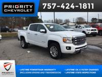 2016 GMC SLT Canyon Summit White Navigation, Backup