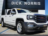 2016 GMC SIERRA 1500 SLT 4 DOOR CREW CAB! SUMMIT WHITE