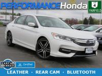 HONDA CERTIFIED! 1-OWNER CARFAX VERIFIED! *EQUIPPED