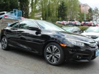 Check out this 2016 Honda Civic Coupe EX-T. Its