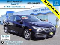 BACKUP CAMERA, BLUETOOTH, POWER PACKAGE, CERTIFIED,