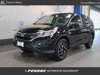 2016 Honda CR-V SE HONDA CERTIFIED, INCLUDES WARRANTY,