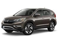 Certified. CR-V HondaTrue Certified Details:* 182 Point