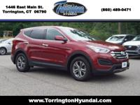 2016 Hyundai Santa Fe Sport 2.4 Base Serrano Red Blue