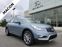 2016 INFINITI QX50 W/PREMIUM PLUS PACKAGE Hagane Blue