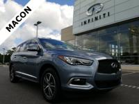 INFINITI OF MACON IS OFFERING THIS 2016 INFINITI QX60