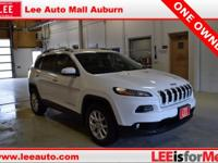 2016 Jeep Cherokee Latitude White Bluetooth, Hands free