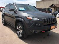 EPA 26 MPG Hwy/19 MPG City! Jeep Certified, CARFAX