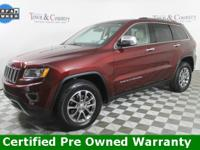Certified. **BACKUP CAMERA**, **MOONROOF/SUNROOF**, FCA