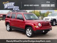 2016 CERTIFIED Jeep Patriot Latitude 4WD in Deep Cherry