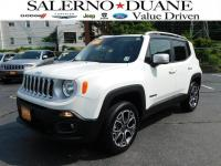 CERTIFIED 2016 JEEP RENEGADE LIMITED WITH NAVIGATION,