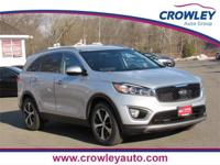 2016 Kia Sorento AWD EX in Sparkling Silver. Located at