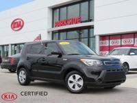 2016 Kia Soul Black *One Owner*, AM/FM/MP3 Audio