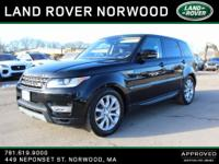 CARFAX One-Owner. Clean CARFAX. LAND ROVER CERTIFIED,
