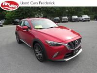 2016 soul red metallic Mazda CX-3 6-Speed Automatic One