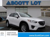 2016 Mazda CX-5 TOURING ALL WHEEL DRIVE. Certified.