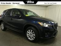 2016 Mazda CX-5 Touring in Crystal Blue, Bluetooth Hand