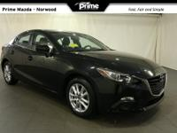 2016 Mazda Mazda3 i in Jet Black, Bluetooth Hand Free