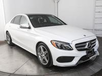 Certified. 2016 Mercedes-Benz C-Class C 300 in Polar