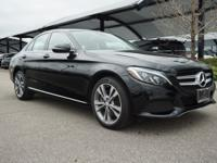 Clean CARFAX. 2016 Mercedes-Benz C 300 LOW