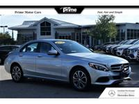 Mercedes-Benz certified! Carfax certified one owner.