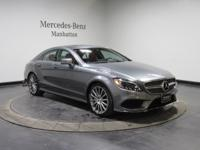 Certified. Grey 2016 Mercedes-Benz CLS CLS 550 4MATIC