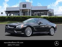 Mercedes-Benz Certified, CARFAX 1-Owner. SL 400 trim,
