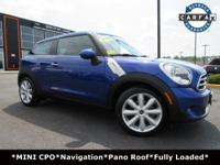**MINI CERTIFIED** FULLY LOADED! Clean Carfax History