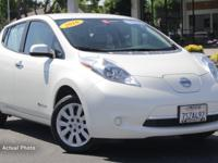 Nissan Certified Pre-Owned 2016 Nissan Leaf S (FWD,