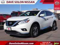 CARFAX One-Owner. 2016 Nissan Murano SL AWD CVT with