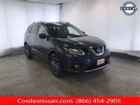 Certified. Arctic Blue Metallic 2016 Nissan Rogue SL