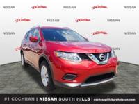 Recent Arrival!Cayenne Red 2016 Nissan Rogue SV 2.5L I4