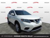 Recent Arrival!Pearl White 2016 Nissan Rogue SV 2.5L I4