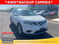 CARFAX One-Owner. Glacier White 2016 Nissan Rogue SV