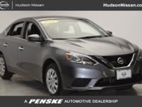 PRE-CERTIFIED, Sentra SV, 4D Sedan, Gray.Clean CARFAX.