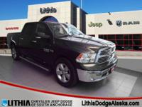 Ram Certified, ONLY 37,765 Miles! Big Horn trim. EPA 22