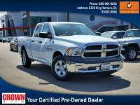 Certified. Bright White Clearcoat 2016 Ram 1500